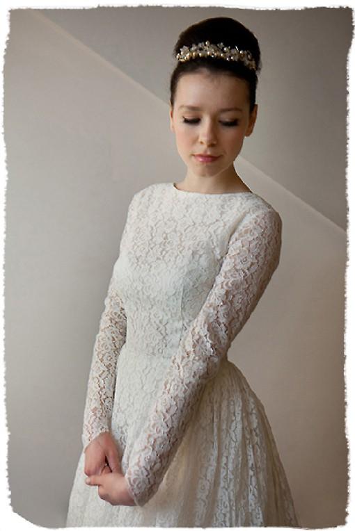 Heavenly vintage dresses for Lds wedding dresses lace
