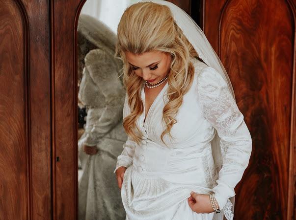 real vintage bride