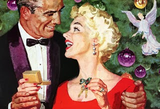 HVB vintage wedding blog, Christmas greetings