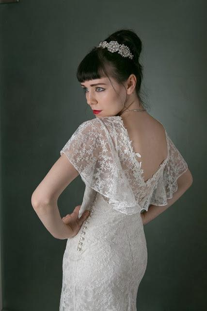 1930s vintage wedding dress 'ANGEL' c. Heavenly Vintage Brides