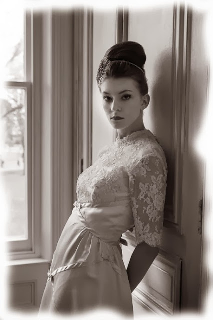 1960s vintage wedding dresses c. HVB vintage wedding blog