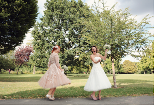 Real Vintage Bride Of The Week: Jane, In 1950s Lace And