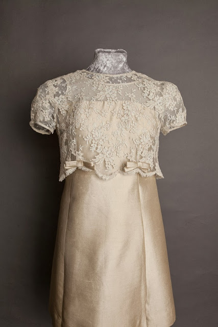 1960s vintage wedding dresses c. HVB vintage wedding blog