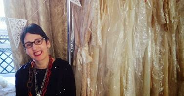 Heavenly Vintage Wedding Dresses at Bristol Vintage Wedding Fair 2014